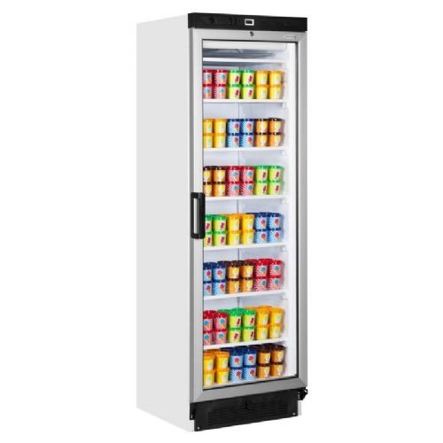 Tefcold UFG1380 Glass Door Display Freezer